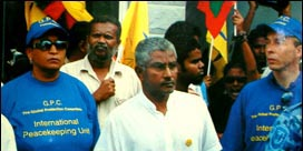 Zaki pictured with members of the GPC in November 2006