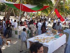 Maldivian feast
