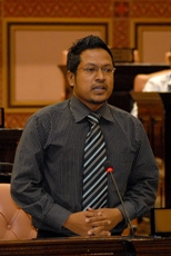 Maafanu North MP Imthiyaz Fahmy