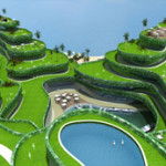 Government approves project for floating golf course