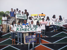 Billabong students are on a mission to save the Kimboo, a nine foot crocodile