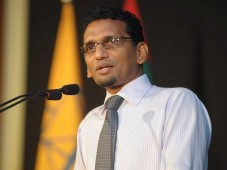 MDP President Dr Ibrahim Didi