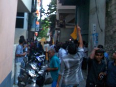 MDP protest October 20