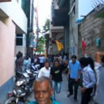 MDP protest turns violent outside Gayoom's residence