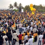 Protests to continue until date given for early elections: Nasheed