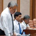 State budget of MVR 16.9 billion for 2013 presented to parliament