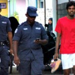 Two men arrested playing football during President's visit to Kan'ditheemu