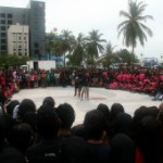 Disappointment over low government turnout at One Billion Rising event
