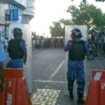 MDP holds 'Black March' against police brutality