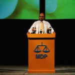 """I have joined MDP to prevent window to democracy from being closed"": Speaker Shahid"