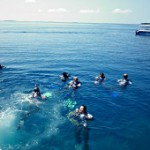 Eco-friendly resort holds 24-hour scuba diving event