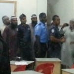 "Police escort Sheikh from Maafushi after protesters accuse him of ""distorting religion"""