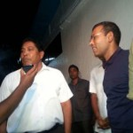 Former President Nasheed meets Jumhooree Party Leader Gasim Ibrahim