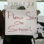 Parents protest as disabled childrens' school faces closure