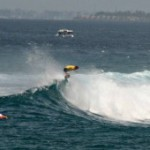 World champions and Maldivian locals shred 'sultans' during Four Seasons surfing competition