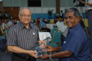 Champa Mohamed Moosa with former President Gayoom