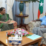 Indian foreign secretary arrives in Male' ahead of poll