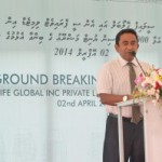 President reveals vision for foreign investment at Hulhumalé project launch