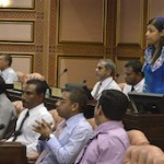 Majlis sitting called off amid opposition protest over committee composition