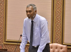 Housing Minister Dr Mohamed Muiz