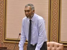 Housing Minister Dr Mohamed Muiz