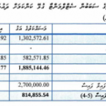 Termination of misappropriated state funds investigation cost government MVR66 million