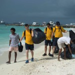 US sailors visit children's home, join clean-up event in Vilimalé