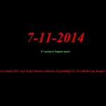 MNDF website hacked