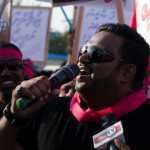 Hundreds march in support of President Yameen