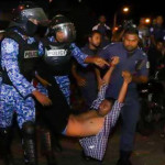 MP Mahloof, Raajje TV journalists among nine arrested at opposition protest