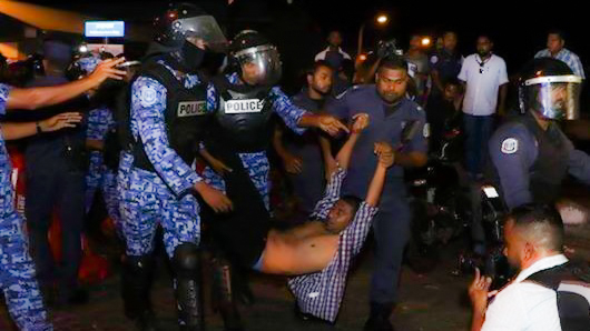 MP Mahloof held for 15 days after rejecting second protest ban