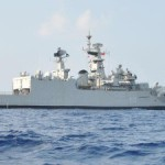 Indian navy ship Gomati arrives in Maldives