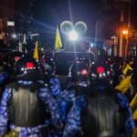 "Police to break up ""unauthorised"" protests"