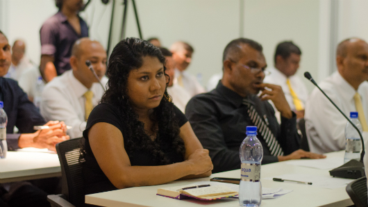 Hisaan at MDP National Committee