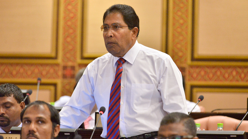Gasim Ibrahim; Jumhooree Party; Maamigilli MP
