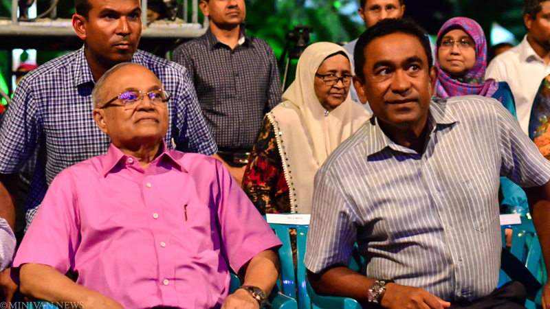 Gayoom's call for referendum on foreign freeholds dismissed