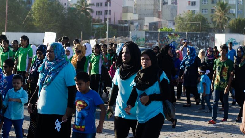 Hundreds observe World Autism Day