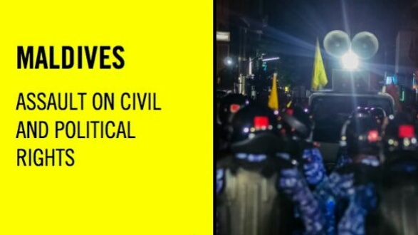 Maldives human rights situation 'rapidly deteriorating'