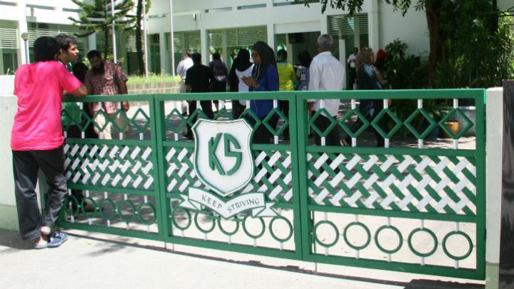 Toxic fumes shut down Malé school
