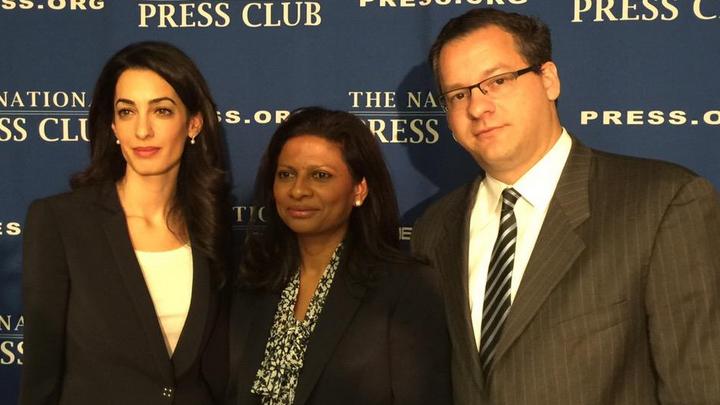 Ex president's lawyer denied work visa