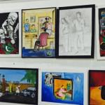 Hundreds of inmates display artwork at national gallery