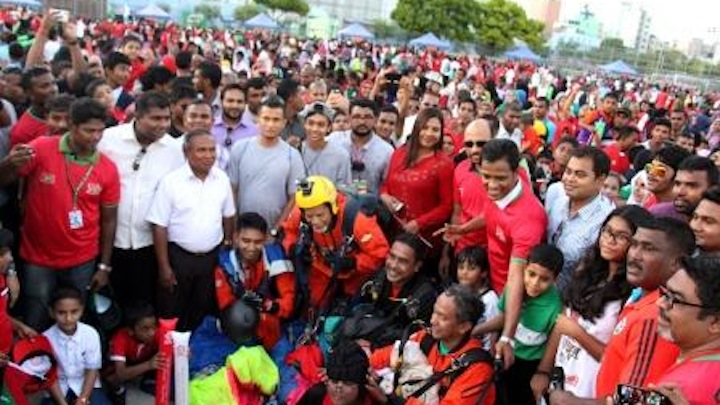 Home minister claims 100,000 participated in independence parade