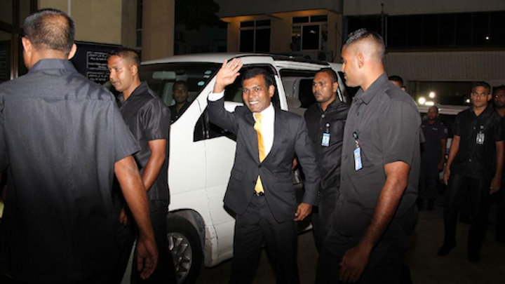 Former President Nasheed appeals for clemency