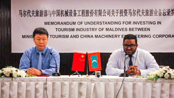 Maldives to build Chinese-friendly hotels and resorts