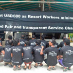 Resort workers dismissed on drug abuse charges were 'key unionists'