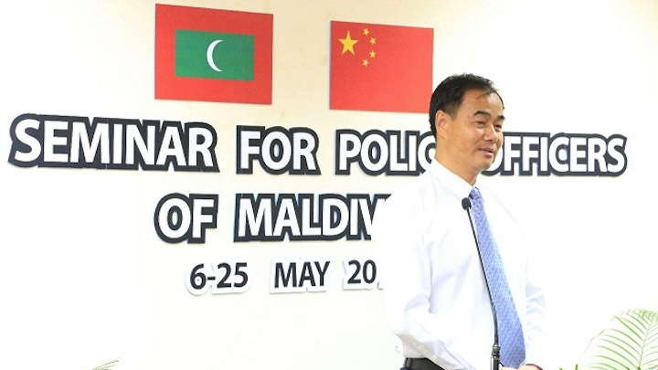 Chinese ambassador assures assistance for police
