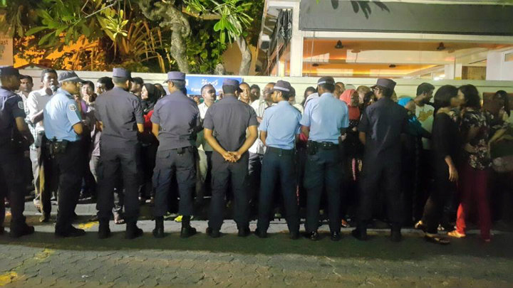 Three arrested from opposition protest