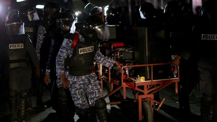Police seize 'protest sound system' from ex MDP president's residence