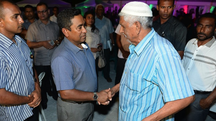 President Yameen 'lied' to senior citizens