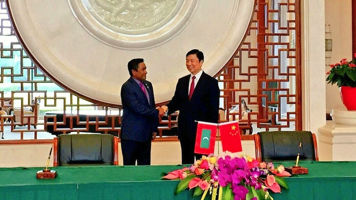 Defence minister summoned over Chinese submarine 'incursion into Maldivian waters'